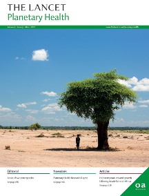 The Lancet Planetary Health Journal Cover